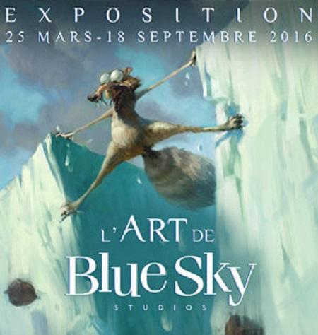 2016 Art ludique l art de blue sky