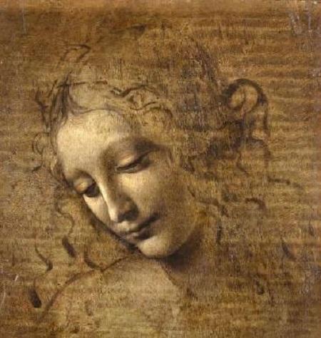 2019 01 Leonard de Vinci Louvre La Scapigliata TLM