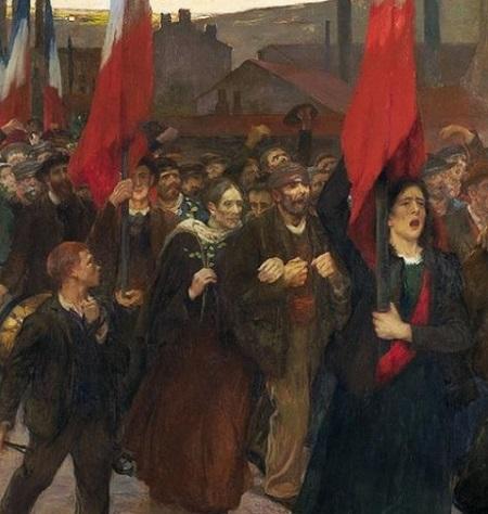 2019 03 jules Adler la grève au Creusot mahj TLM