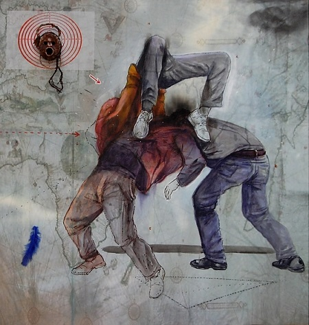 2019 05 L'indicible demeure de l'espoir, 2019. Technique Mohamed Lekleti IMA TLM
