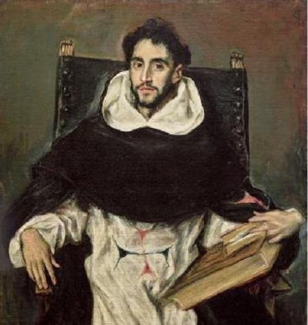 2019 08 GRECO au grand Palais Portrait du frère Hortensio Félix Paravicino Vers 1609 1611 TLM