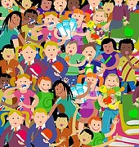 Enfants groupe TLM