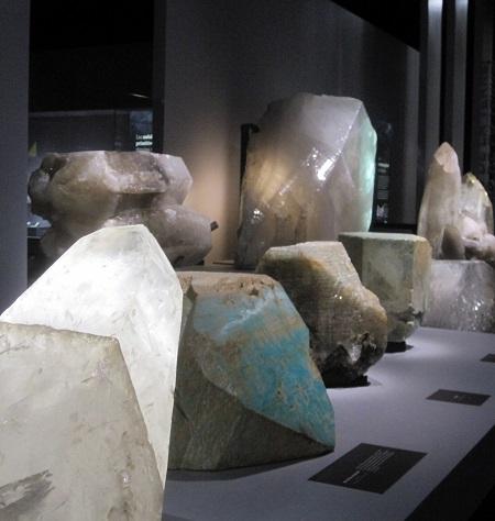 Galerie de Minéralogie et de Géologie MNHN TLM TousLesMusées