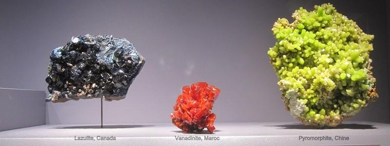 Mineralogie museum national d'histoire naturelle