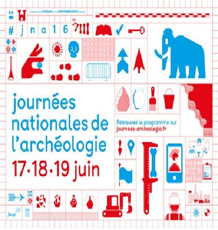 Journées nationales d'archéologie 2018