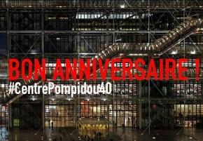 beaubourg pompidou 40 ans anniversaire TLM TousLesMusées