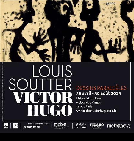 exposition Louis Soutter Victor Hugo - TousLesMusées TLM
