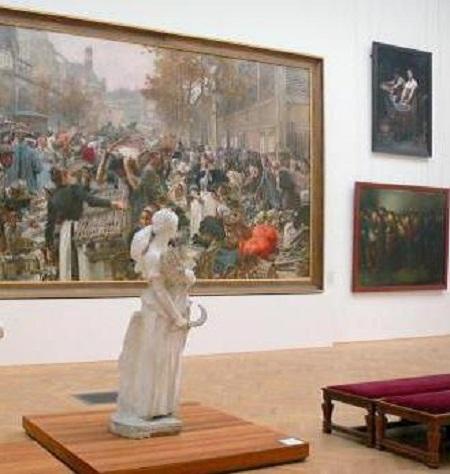 2017 12 23 Petit palais Visite XIXe siècle B. Gallini TLM