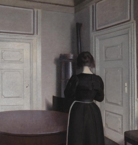 Interior 1899 by Vilhelm Hammershoi