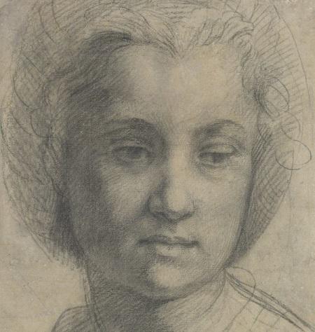 2020 07 Fondation Custodia Andrea del Sarto Tete d'une jeune femme vers 1517 TLM