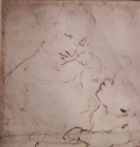 20200223_004815 etude vierge enfant expo Vinci Louvre