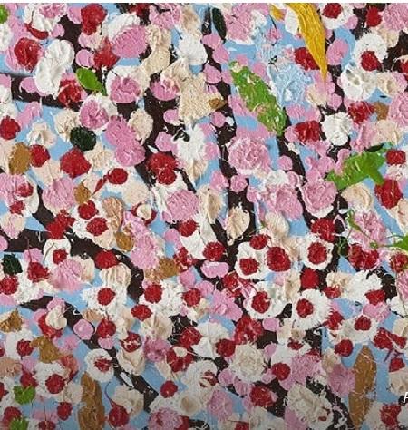 2021 07 17 Cerisiers en fleur Damien Hirst TLM