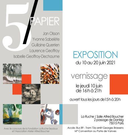 2021 06 La Ruche 5 / Papier TLM