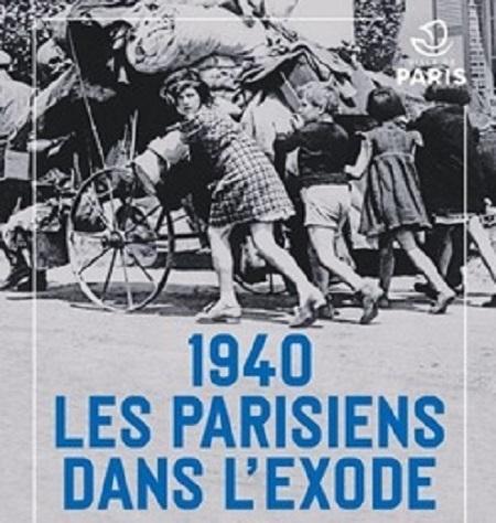 D 2020 14 1940 Les parisiens dans l'exode TLM