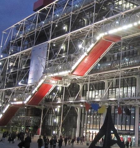 Centre pompidou TLM