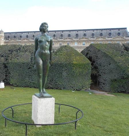 Maillol Jardin des Tuileries TLM