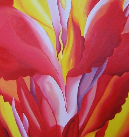 Red-Canna-by-Georgia-OKeeffe Pompidou TLM
