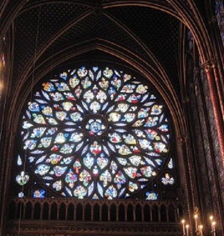 Sainte Chapelle de Paris Rosace
